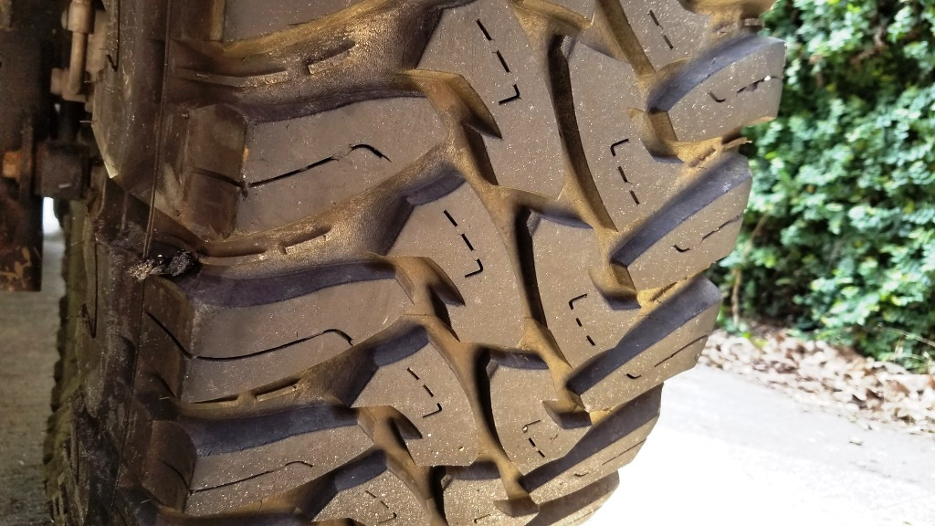 Nail too close to sidewall? - Jeep Wrangler Forum
